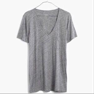 Madewell Tops - 💕2 for$20 New Madewell Whisper Cotton V- Neck Tee